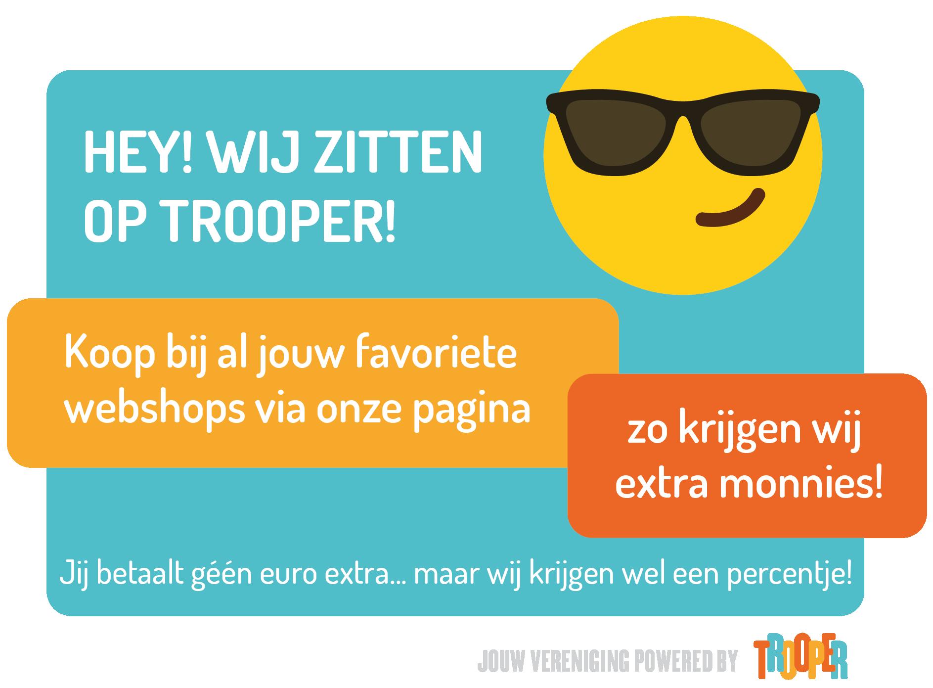 Steun ons via Trooper